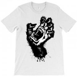 screaming hand werewolf T-Shirt | Artistshot