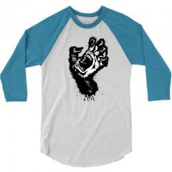 screaming hand werewolf 3/4 Sleeve Shirt | Artistshot