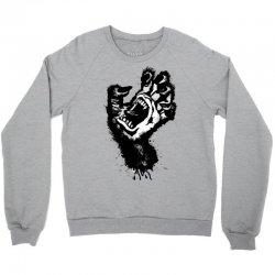 screaming hand werewolf Crewneck Sweatshirt | Artistshot