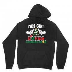 This Girl Loves Christmas Unisex Hoodie   Artistshot