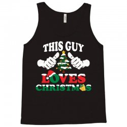 This Girl Loves Christmas Tank Top | Artistshot