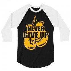Never Give Up Appendix Cancer Awareness 3/4 Sleeve Shirt | Artistshot