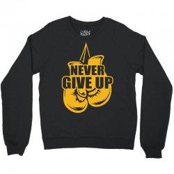 Never Give Up Appendix Cancer Awareness Crewneck Sweatshirt | Artistshot