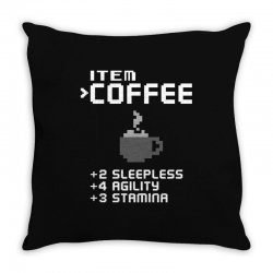 Facts Of Coffee Throw Pillow | Artistshot
