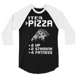 Facts Of Pizza 3/4 Sleeve Shirt | Artistshot