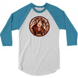 music girl 3/4 Sleeve Shirt | Artistshot