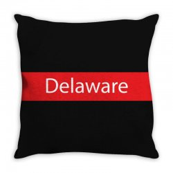 delaware Throw Pillow | Artistshot