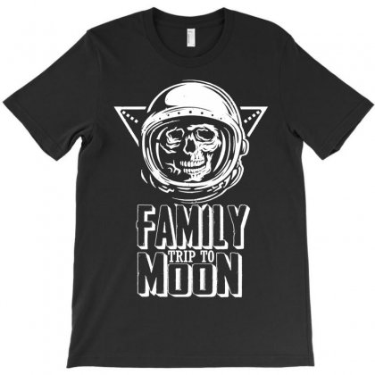 Family Trip To Moon T-shirt Designed By Designbycommodus