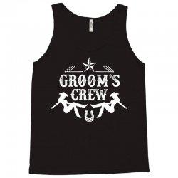 Old West Bachelor Party - Groom's Crew Version Tank Top | Artistshot