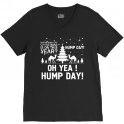 Guess What Day Christmas.... V-Neck Tee   Artistshot