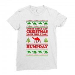 Guess What Day Christmas.... Ladies Fitted T-shirt Designed By Tshiart