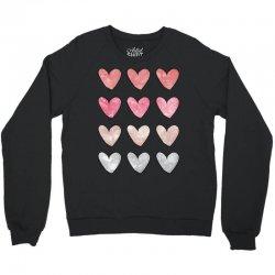 Hearts Crewneck Sweatshirt | Artistshot