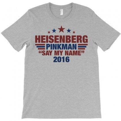 Heisenberg Pinkman 2016 T-shirt Designed By Tshiart