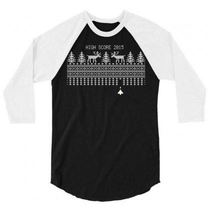 High Score 2015 3/4 Sleeve Shirt Designed By Tshiart
