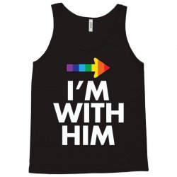I Am With Him Tank Top | Artistshot