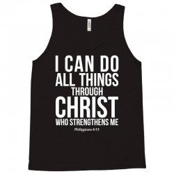 Do all things through Christ Tank Top | Artistshot