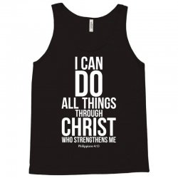 Do all things through Christ Tank Top | Artistshot