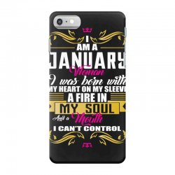 i am a january women iPhone 7 Case | Artistshot