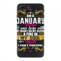 i am a january women iPhone 7 Plus Case | Artistshot