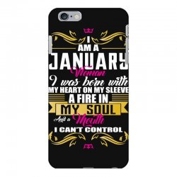 i am a january women iPhone 6 Plus/6s Plus Case | Artistshot