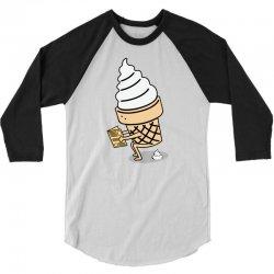 Ice Cream 3/4 Sleeve Shirt   Artistshot