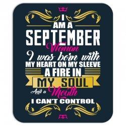 i am a September women Mousepad | Artistshot