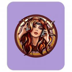 music girl Mousepad | Artistshot
