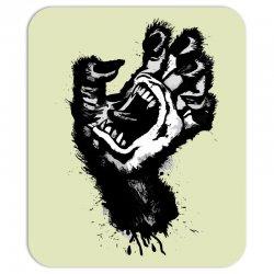 screaming hand werewolf Mousepad | Artistshot