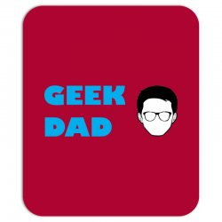 geek dad Mousepad | Artistshot
