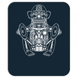 musician monkey robot Mousepad | Artistshot