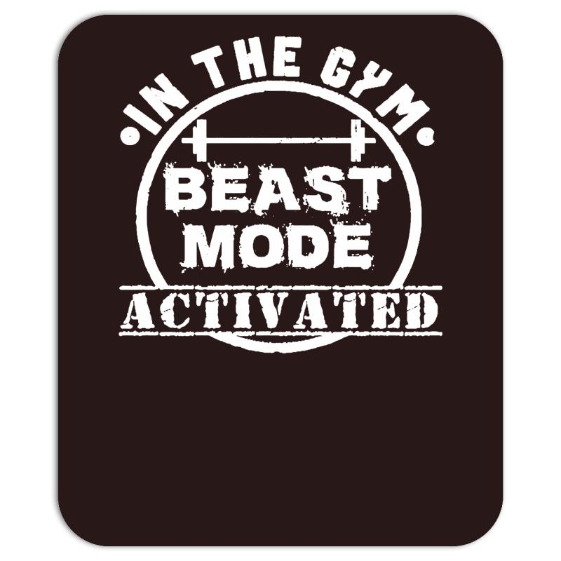 In The Gym Beast Mode Mousepad By Artistshot