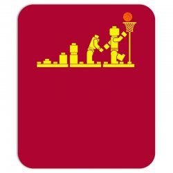 evolution lego basketball sports funny Mousepad | Artistshot
