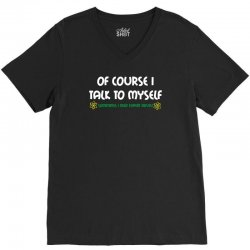 geek expert advice   science   physics   nerd t shirt V-Neck Tee | Artistshot