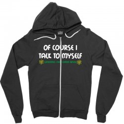 geek expert advice   science   physics   nerd t shirt Zipper Hoodie | Artistshot