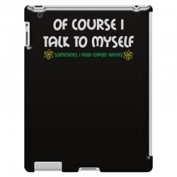 geek expert advice   science   physics   nerd t shirt iPad 3 and 4 Case | Artistshot
