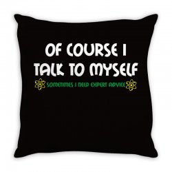 geek expert advice   science   physics   nerd t shirt Throw Pillow | Artistshot