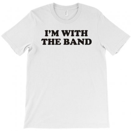 I M With The Band T-shirt Designed By Yoseptees