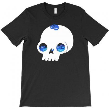 Skull Full Of Cats T-shirt Designed By Yoseptees