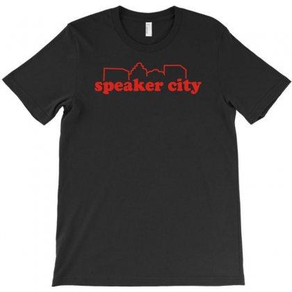 Speaker City T-shirt Designed By Yoseptees