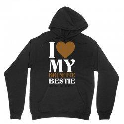 I Love My Blonde Bestie - I Love My Brunette Best Unisex Hoodie   Artistshot