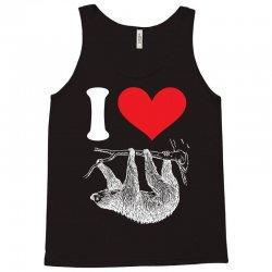 I HEART SLOTH Tank Top | Artistshot