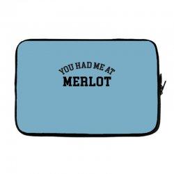 you had me at merlot Laptop sleeve | Artistshot