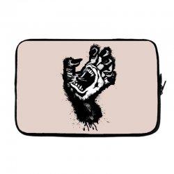 screaming hand werewolf Laptop sleeve | Artistshot