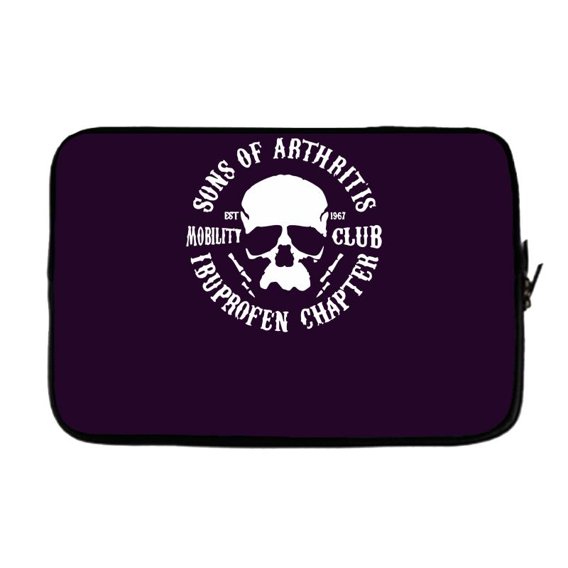 a26aa18d Custom Sons Of Arthritis Funny Soa Parody Laptop Sleeve By Mdk Art ...