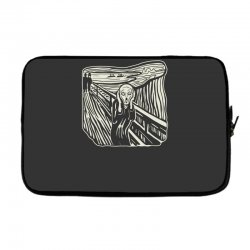 the scream Laptop sleeve | Artistshot