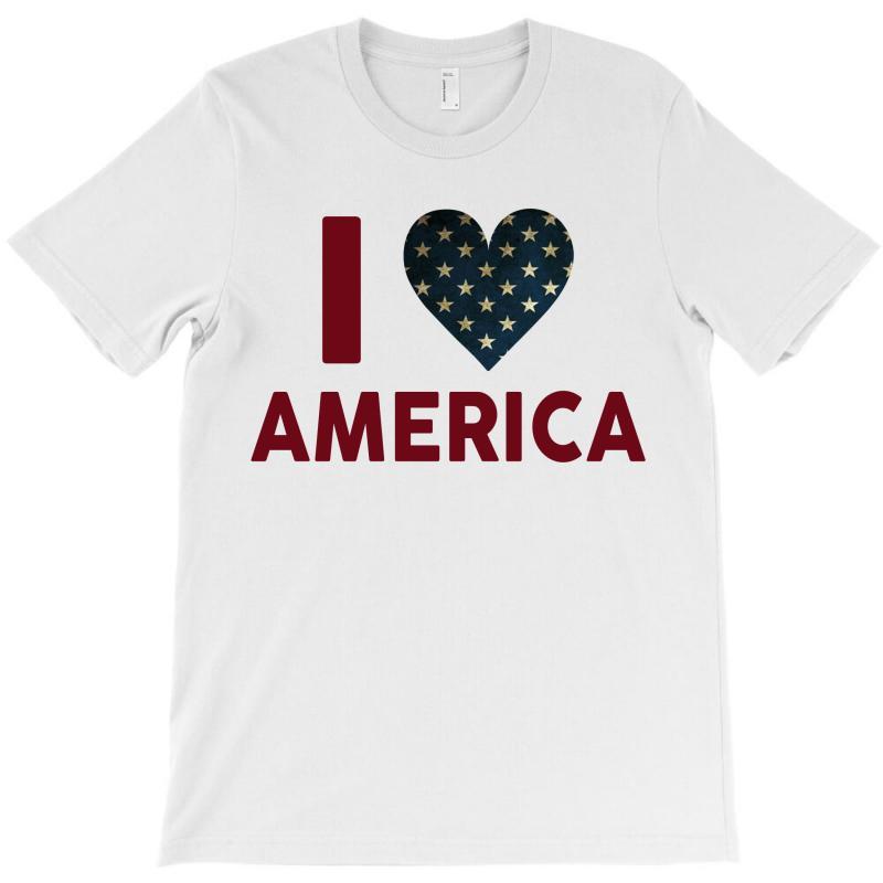 I Love America T-shirt | Artistshot