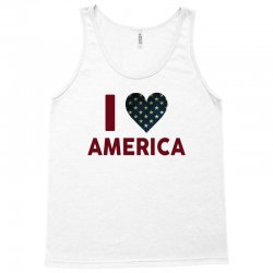 I Love America Tank Top | Artistshot