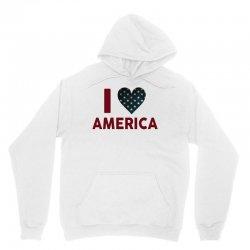 I Love America Unisex Hoodie | Artistshot