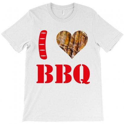 I Love Bbq T-shirt Designed By Tshiart