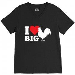 I Love Big Cock V-Neck Tee | Artistshot